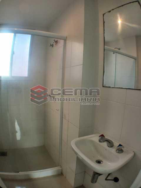 Banheiro suíte  - Apartamento 2 quartos para alugar Catete, Zona Sul RJ - R$ 2.500 - LAAP23171 - 9