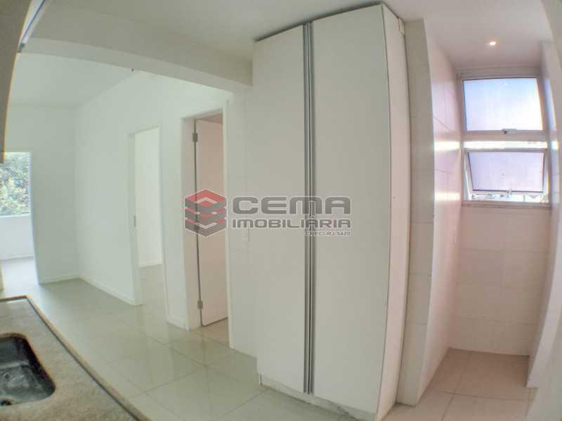 Cozinha  - Apartamento 2 quartos para alugar Catete, Zona Sul RJ - R$ 2.500 - LAAP23171 - 17