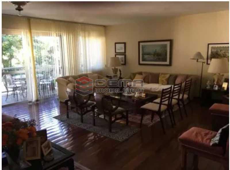 sala - Apartamento à venda Rua Osório de Almeida,Urca, Zona Sul RJ - R$ 3.500.000 - LAAP40563 - 5