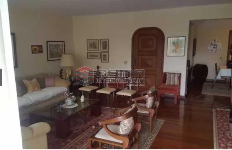 sala - Apartamento à venda Rua Osório de Almeida,Urca, Zona Sul RJ - R$ 3.500.000 - LAAP40563 - 7