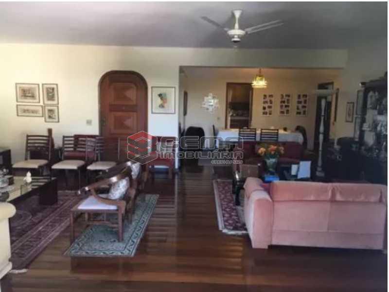 sala - Apartamento à venda Rua Osório de Almeida,Urca, Zona Sul RJ - R$ 3.500.000 - LAAP40563 - 4
