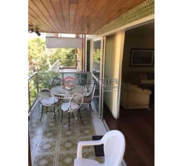 varanda - Apartamento à venda Rua Osório de Almeida,Urca, Zona Sul RJ - R$ 3.500.000 - LAAP40563 - 8