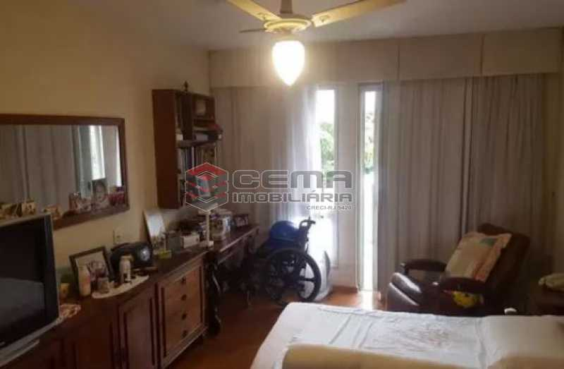 quarto 1 - Apartamento à venda Rua Osório de Almeida,Urca, Zona Sul RJ - R$ 3.500.000 - LAAP40563 - 10