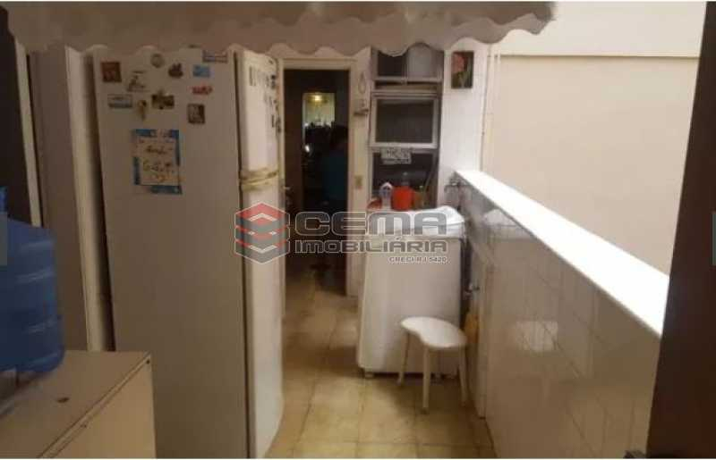 área de serviço - Apartamento à venda Rua Osório de Almeida,Urca, Zona Sul RJ - R$ 3.500.000 - LAAP40563 - 12
