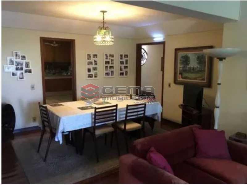 sala - Apartamento à venda Rua Osório de Almeida,Urca, Zona Sul RJ - R$ 3.500.000 - LAAP40563 - 6