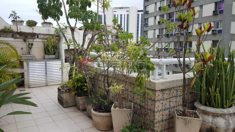 terraço - Cobertura 2 quartos à venda Flamengo, Zona Sul RJ - R$ 1.250.000 - LACO20093 - 1