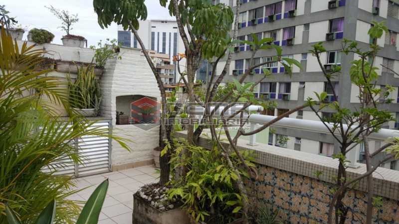 terraço - Cobertura 2 quartos à venda Flamengo, Zona Sul RJ - R$ 1.250.000 - LACO20093 - 3