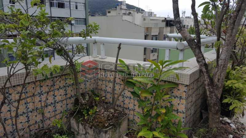 terraço - Cobertura 2 quartos à venda Flamengo, Zona Sul RJ - R$ 1.250.000 - LACO20093 - 4