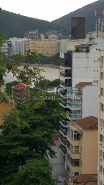 vista - Cobertura 2 quartos à venda Flamengo, Zona Sul RJ - R$ 1.250.000 - LACO20093 - 5