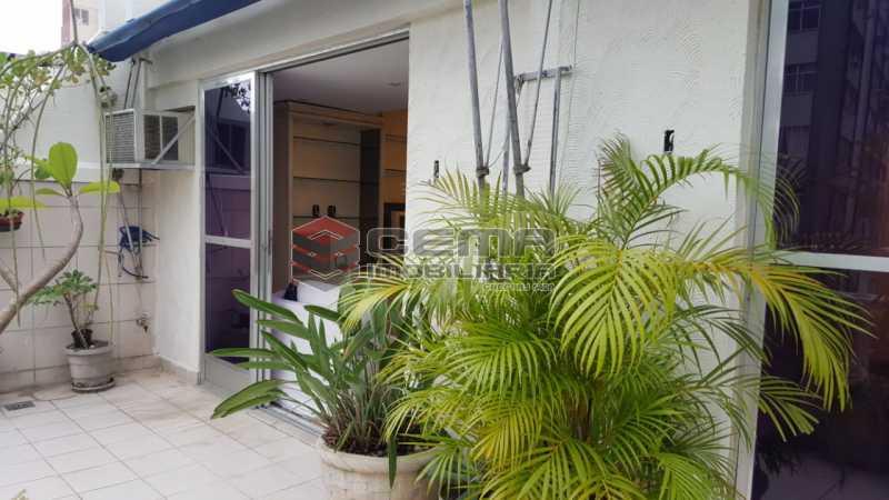 terraço - Cobertura 2 quartos à venda Flamengo, Zona Sul RJ - R$ 1.250.000 - LACO20093 - 6
