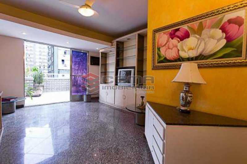 sala - Cobertura 2 quartos à venda Flamengo, Zona Sul RJ - R$ 1.250.000 - LACO20093 - 16