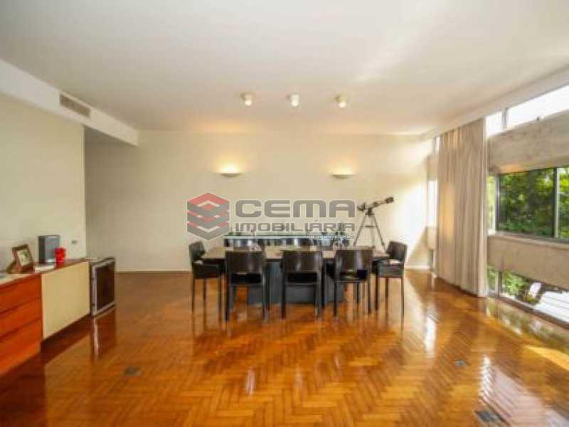 1. Sala. - Apartamento à venda Avenida João Luís Alves,Urca, Zona Sul RJ - R$ 6.500.000 - LAAP40591 - 5