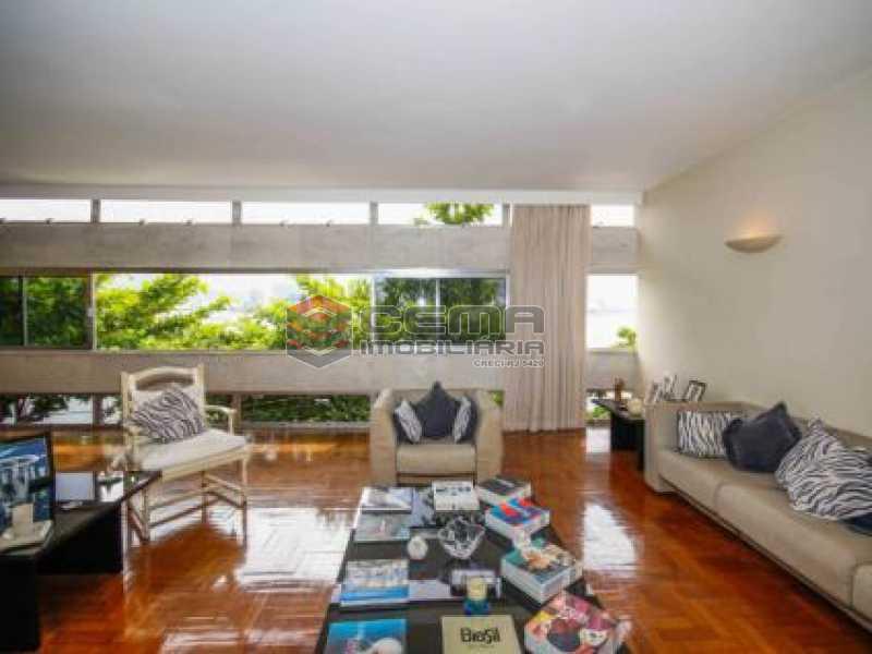 2. Sala. - Apartamento à venda Avenida João Luís Alves,Urca, Zona Sul RJ - R$ 6.500.000 - LAAP40591 - 6