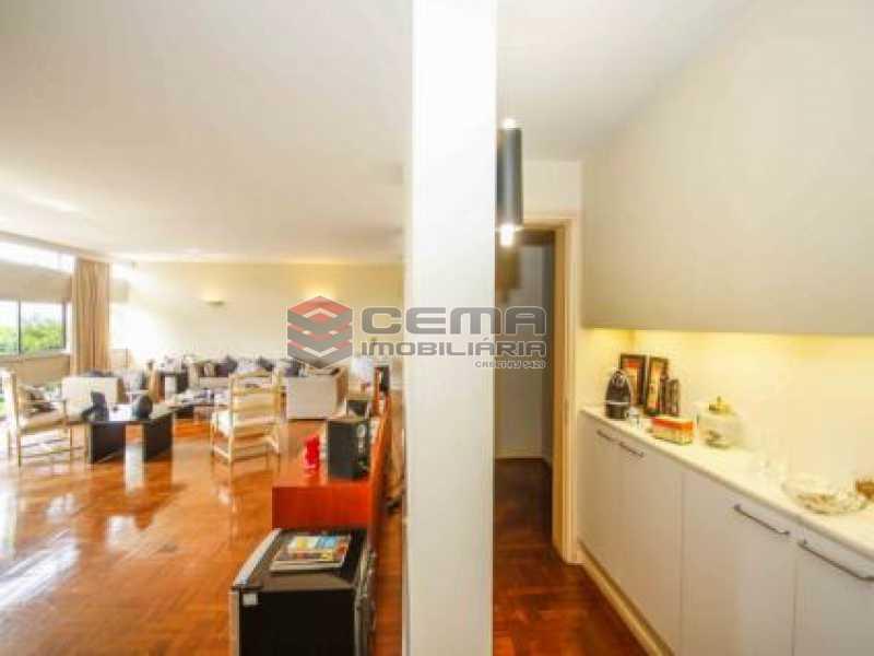 3. Sala. - Apartamento à venda Avenida João Luís Alves,Urca, Zona Sul RJ - R$ 6.500.000 - LAAP40591 - 7