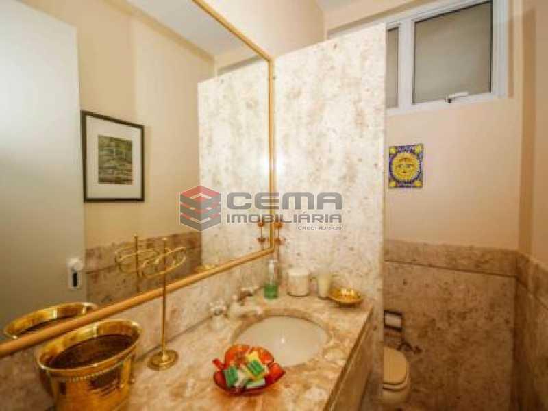 12. Banheiro Lavabo Sala. - Apartamento à venda Avenida João Luís Alves,Urca, Zona Sul RJ - R$ 6.500.000 - LAAP40591 - 16