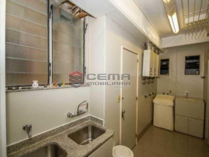15. Área de Serviço. - Apartamento à venda Avenida João Luís Alves,Urca, Zona Sul RJ - R$ 6.500.000 - LAAP40591 - 19