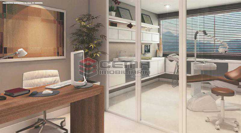 PERPECTIVA 02 - Sala Comercial 22m² à venda Tijuca, Zona Norte RJ - R$ 403.000 - LASL00356 - 4
