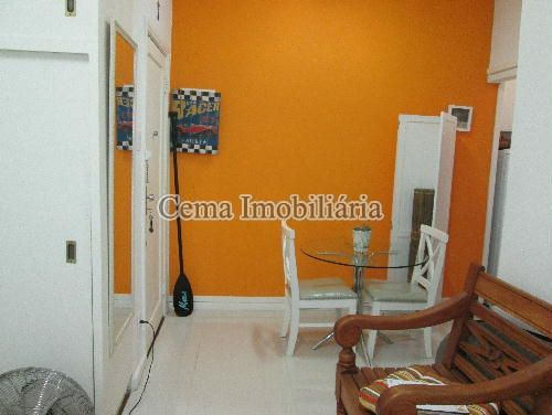 SALA ANG 5 - Apartamento à venda Rua Buarque de Macedo,Flamengo, Zona Sul RJ - R$ 455.000 - LA12583 - 5