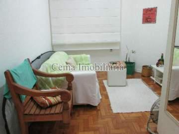 SALA NG 8 - Apartamento à venda Rua Buarque de Macedo,Flamengo, Zona Sul RJ - R$ 455.000 - LA12583 - 8