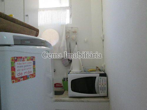 COZINHA - Apartamento à venda Rua Buarque de Macedo,Flamengo, Zona Sul RJ - R$ 455.000 - LA12583 - 15