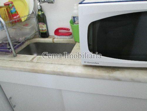 COZINHA ANG 2 - Apartamento à venda Rua Buarque de Macedo,Flamengo, Zona Sul RJ - R$ 455.000 - LA12583 - 16