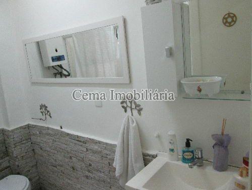 BANHEIRO - Apartamento à venda Rua Buarque de Macedo,Flamengo, Zona Sul RJ - R$ 455.000 - LA12583 - 19