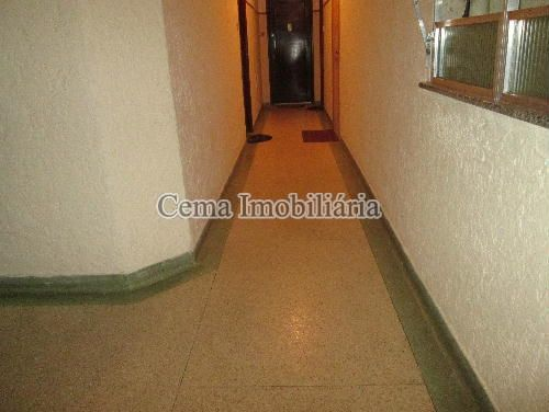 HALL DE ENTRADA ANG 2 - Apartamento à venda Rua Buarque de Macedo,Flamengo, Zona Sul RJ - R$ 455.000 - LA12583 - 21
