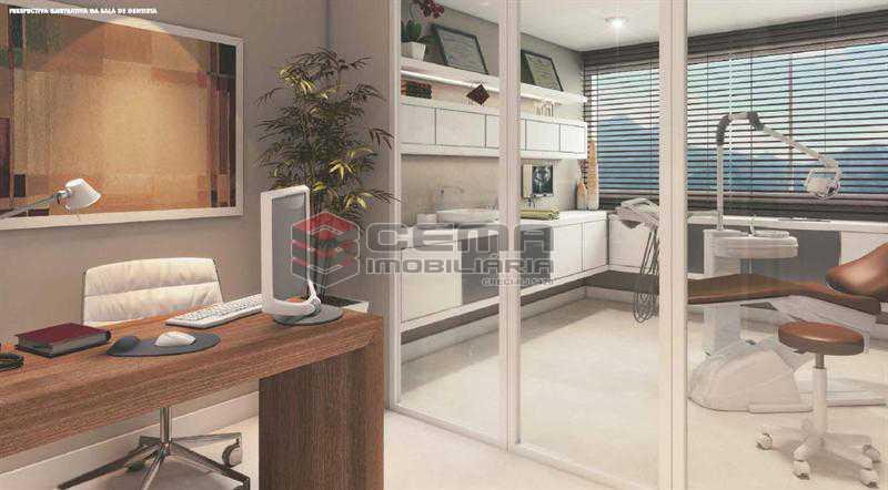 PERPECTIVA 02 - Sala Comercial 26m² à venda Tijuca, Zona Norte RJ - R$ 464.000 - LASL00359 - 4