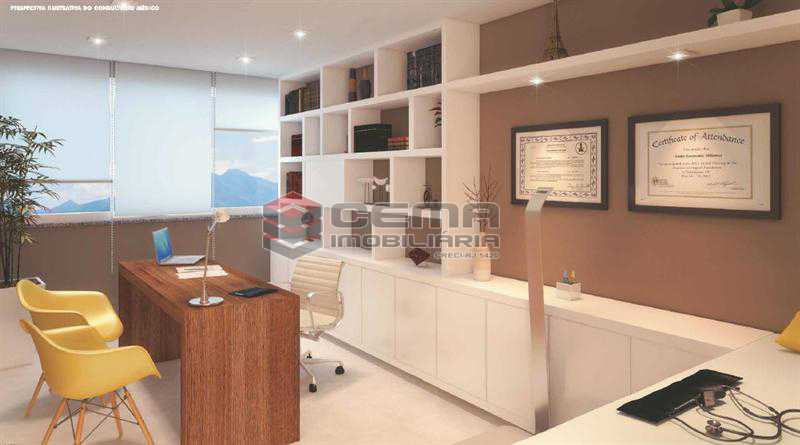PERPECTIVA 04 - Sala Comercial 26m² à venda Tijuca, Zona Norte RJ - R$ 477.000 - LASL00364 - 6