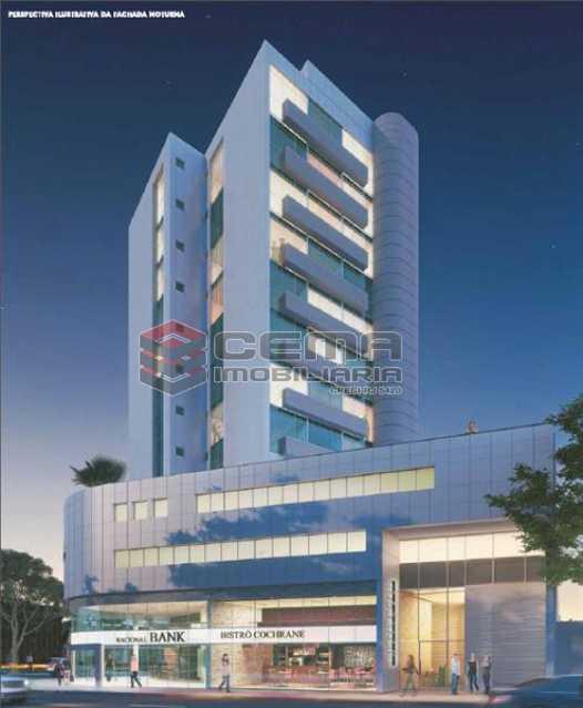 PERPECTIVA 01 - Sala Comercial 19m² à venda Tijuca, Zona Norte RJ - R$ 400.000 - LASL00365 - 3