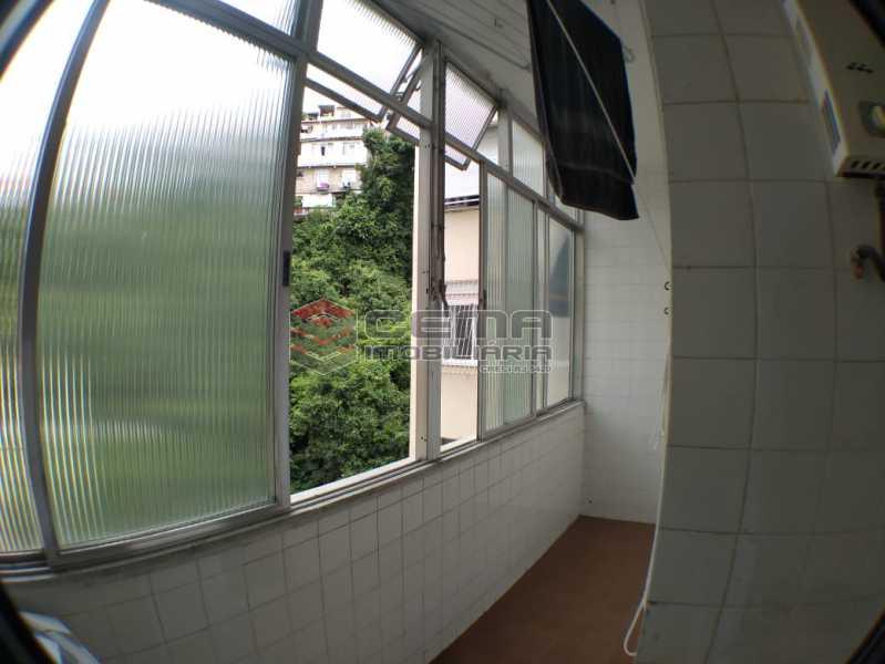28-vista area de serviço. - Apartamento À Venda - Rio de Janeiro - RJ - Leme - LAAP32781 - 21