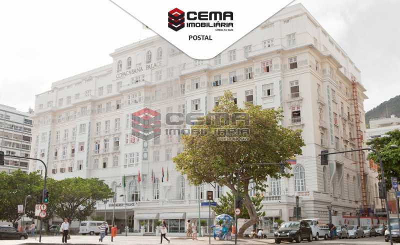 Foto postal - Kitnet/Conjugado À Venda - Copacabana - Rio de Janeiro - RJ - LAKI10218 - 18