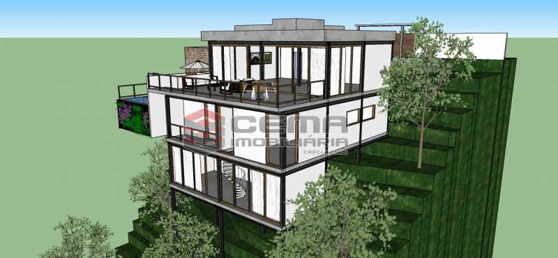 Casa Luke 01 - Terreno 881m² à venda Santa Teresa, Zona Centro RJ - R$ 450.000 - LAUF00010 - 3