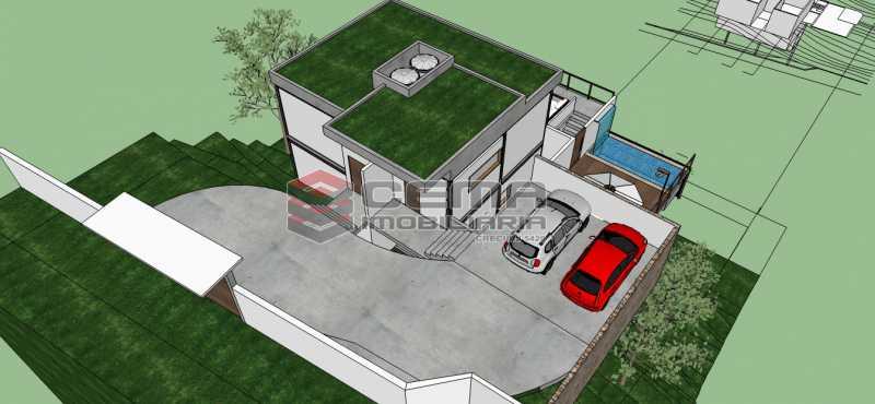 Casa Luke 06 - Terreno 881m² à venda Santa Teresa, Zona Centro RJ - R$ 450.000 - LAUF00010 - 4