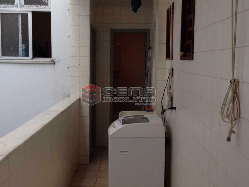 Área de Serviço - Apartamento À Venda Rua Paula Matos,Santa Teresa, Zona Centro RJ - R$ 599.000 - LAAP23322 - 16