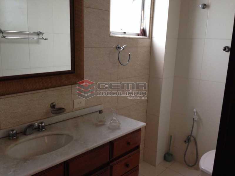 Banheiro - Apartamento À Venda Rua Paula Matos,Santa Teresa, Zona Centro RJ - R$ 599.000 - LAAP23322 - 11