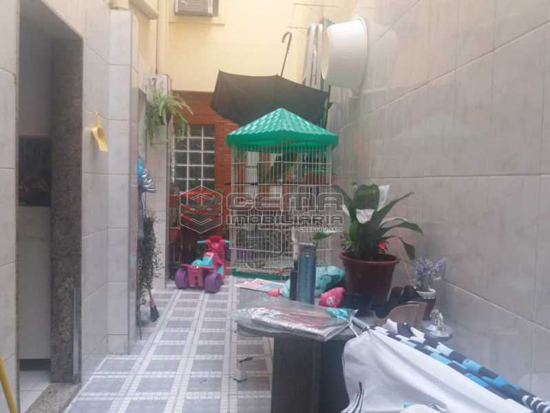 area externa - Casa À Venda - Glória - Rio de Janeiro - RJ - LACA40076 - 26