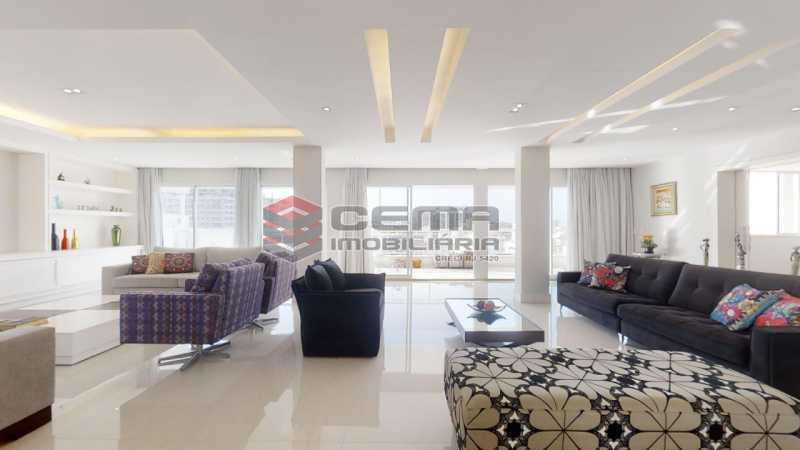 sala - Cobertura 4 quartos à venda Flamengo, Zona Sul RJ - R$ 3.500.000 - LACO40103 - 7