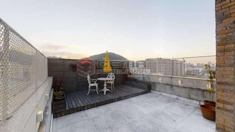 area externa - Cobertura 4 quartos à venda Flamengo, Zona Sul RJ - R$ 3.500.000 - LACO40103 - 15