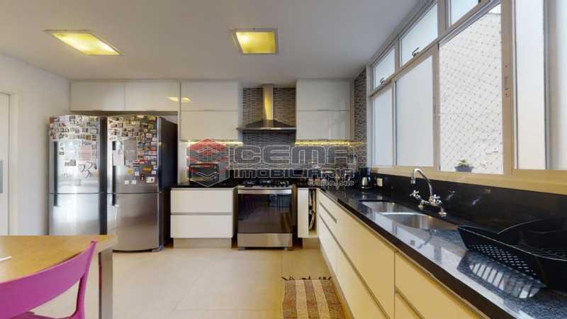 cozinha - Cobertura 4 quartos à venda Flamengo, Zona Sul RJ - R$ 3.500.000 - LACO40103 - 16