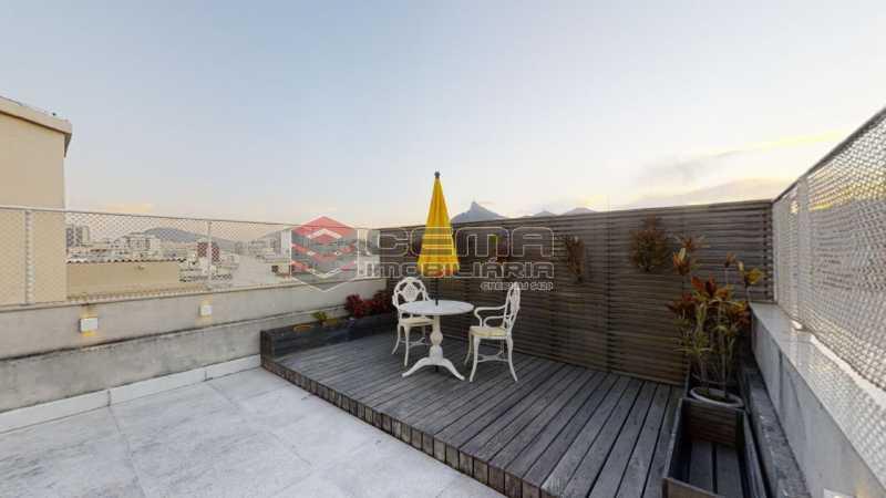 area externa - Cobertura 4 quartos à venda Flamengo, Zona Sul RJ - R$ 3.500.000 - LACO40103 - 17