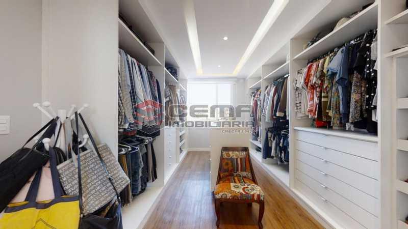 closet - Cobertura 4 quartos à venda Flamengo, Zona Sul RJ - R$ 3.500.000 - LACO40103 - 13