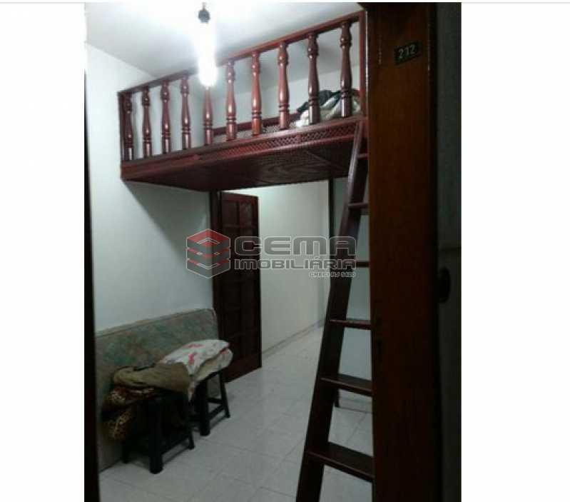 quarto com mezanino - Kitnet/Conjugado 35m² à venda Glória, Zona Sul RJ - R$ 320.000 - LAKI00986 - 3
