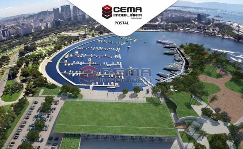 01 - Kitnet/Conjugado 35m² à venda Glória, Zona Sul RJ - R$ 320.000 - LAKI00986 - 13