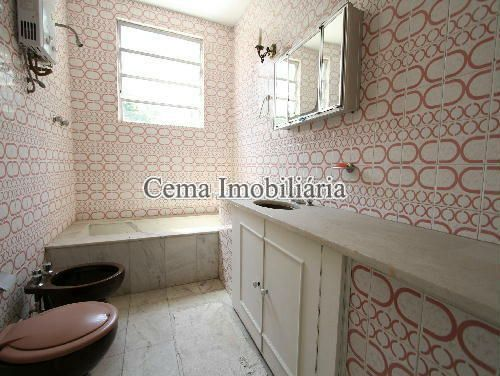 BANHEIRO - Casa À Venda - Humaitá - Rio de Janeiro - RJ - LR40273 - 5