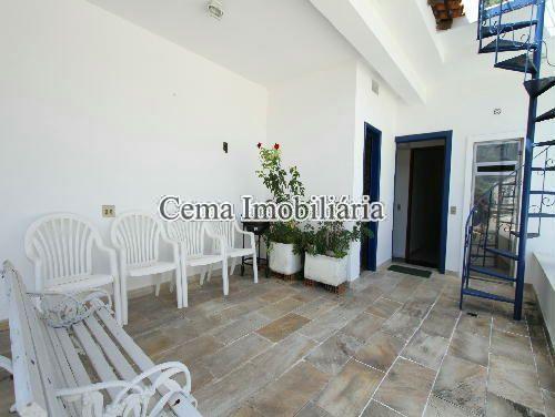 VARANDA - Casa À Venda - Humaitá - Rio de Janeiro - RJ - LR40273 - 6