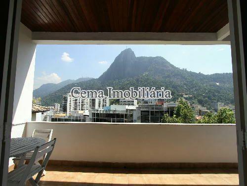 VARANDA ANG 2 - Casa À Venda - Humaitá - Rio de Janeiro - RJ - LR40273 - 11