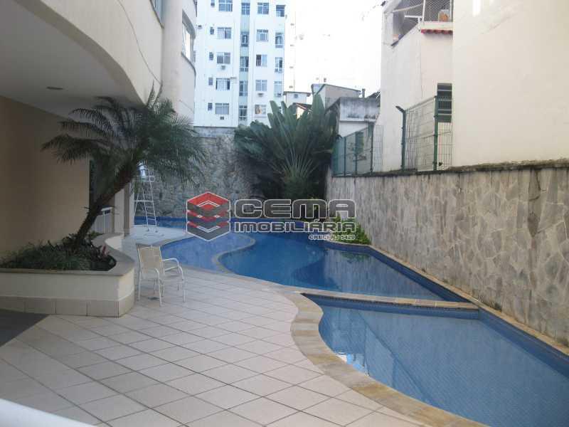 piscina - Apartamento 2 quartos para alugar Botafogo, Zona Sul RJ - R$ 4.700 - LAAP23398 - 21
