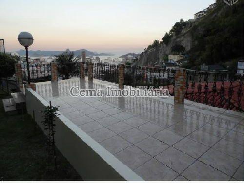 TERRAÇO - Casa À Venda - Catete - Rio de Janeiro - RJ - LR40284 - 8