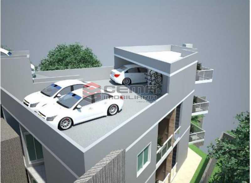 3- GARAGEM - Apartamento 2 Quartos À Venda Santa Teresa, Zona Centro RJ - R$ 550.000 - LAAP23414 - 4